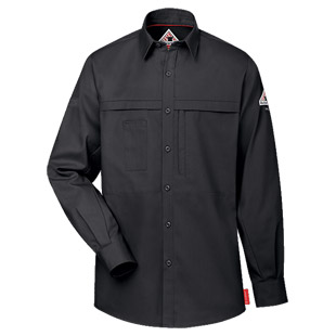 Bulwark Flame Resistant IQ Series Concealed Pocketed Shirt - Click for Large View
