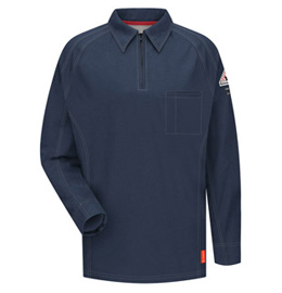 Flame Resistant IQ Series Long Sleeve Polo