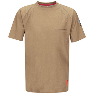 Bulwark Flame Resistant IQ Series Short Sleeve Tee - Click for Large View