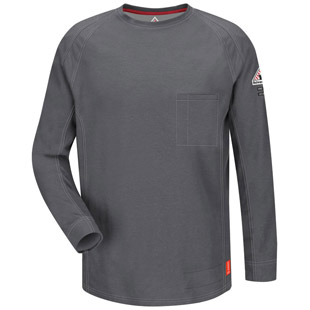 Bulwark Flame Resistant IQ Series Long Sleeve Tee - Click for Large View