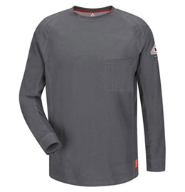Bulwark Flame Resistant IQ Series Long Sleeve Tee