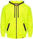 Closeout - Red Kap Full-Zip Fluorescent Work Hoodie