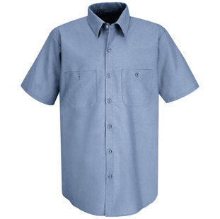 Red Kap Classic Solid Auto Work Shirt - Click for Large View