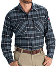 Closeout - Red Kap Flannel Plaid Workshirt