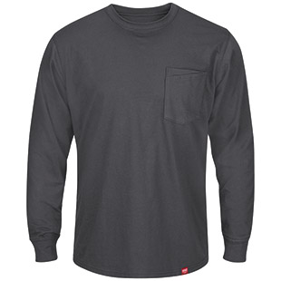 Closeout - Red Kap Long Sleeve T-Shirt - Click for Large View