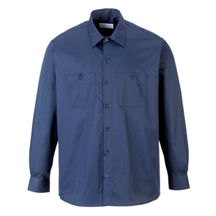 SPECIAL BUY - Portwest Industrial Long Sleeve Work Shirt - CLOSEOUT - Click for Large View