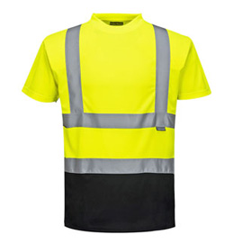 Portwest Two-Tone Hi Visibility T-Shirt - Type R, Class 2