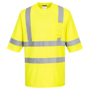 Portwest Dayton Hi Visibility T-Shirt - Type R, Class 3 - Click for Large View