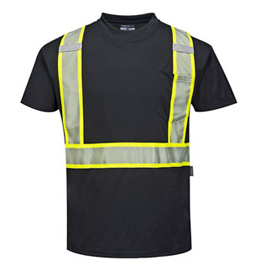 Portwest Iona Plus Enhanced Visibility Short Sleeve T-Shirt