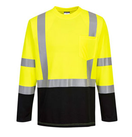 Portwest Laguna Long Sleeve Hi Vis T-Shirt - Type R, Class 3