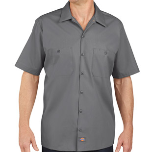 Dickies Industrial Short Sleeve Work Shirt - Click for Large View