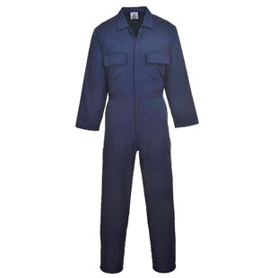 Portwest Euro Work Polycotton Coverall - Click for Large View