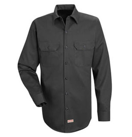Men's Deluxe Long Sleeve Heavyweight 100% Cotton Shirt