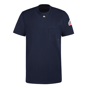 Bulwark Flame Resistant Cotton Short Sleeve T-Shirt - Click for Large View
