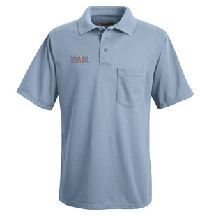 Lawson State Community College Unisex 100% Polyester Pique Polo - Click for Large View