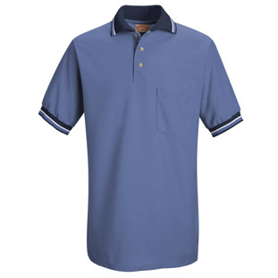 Unisex Performance Knit Raised Jersey Polo Shirt - Click for Large View