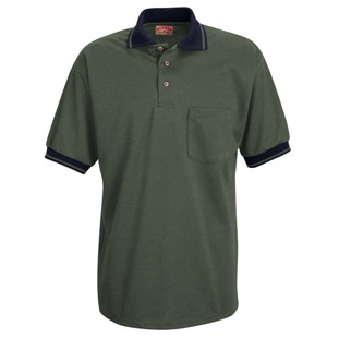 Red Kap Unisex Performance Knit Twill Weave Polo Shirt - Click for Large View