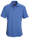 Men's Specialized Pocketless Knit 50/50 Blend Solid Polo Shirt