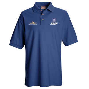 Lawson State Community College GM ASEP Program Unisex Pique Knit Polo Without Pockets - Click for Large View