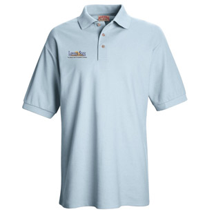 LSCC Unisex Pique Knit Polo Without Pockets - Click for Large View