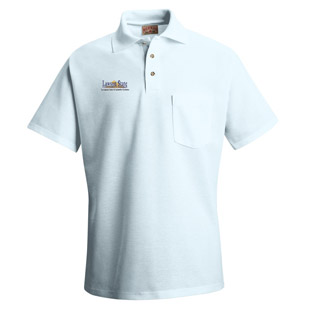 Lawson State Community College Unisex Pique Knit Polo With Pocket - Click for Large View