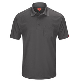 Red Kap Men's Performance Knit Men's Pocket Polo