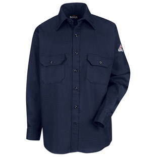 Bulwark Flame Resistant Excel-FR Comfortouch Uniform Shirt - Click for Large View
