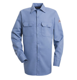 Bulwark Flame Resistant Excel-FR 7.0 oz. Comfortouch Button Front Work Shirt