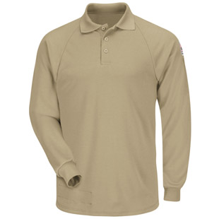 Bulwark Flame Resistant Cool Touch 2 Long Sleeve Classic Polo - Click for Large View
