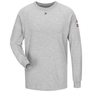 Bulwark Flame Resistant CoolTouch 2 Long Sleeve Performance T-Shirt - Click for Large View