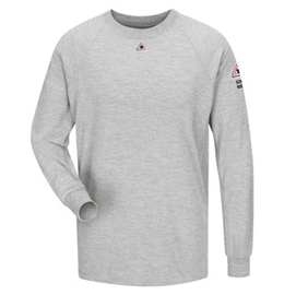 Bulwark Flame Resistant CoolTouch 2 Long Sleeve Performance T-Shirt