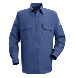 Bulwark Nomex IIIA Flame Resistant 4.5 oz. Button Front Deluxe Shirt