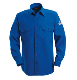Bulwark Nomex IIIA Flame Resistant 6 oz. Button Front Deluxe Shirt