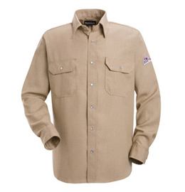 Nomex IIIA Flame Resistant 4.5 oz. Snap Front Deluxe Shirt