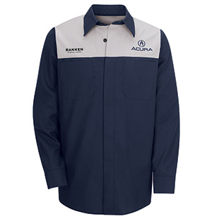 Ranken Technical College Acura Long Sleeve Technician Shirt - Click for Large View