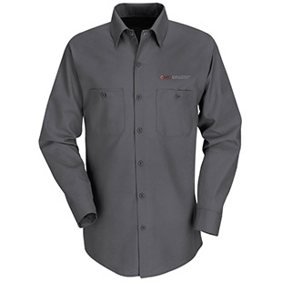 Monterey Peninsula College Long Sleeve Work Shirt - Click for Large View
