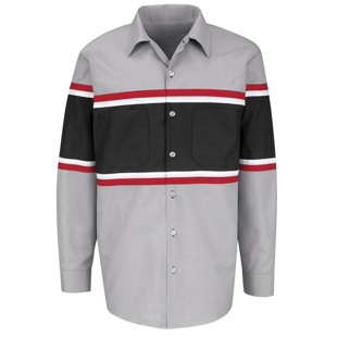 Red Kap Technician Long Sleeve Shirt - Click for Large View