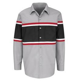 Red Kap Technician Long Sleeve Shirt