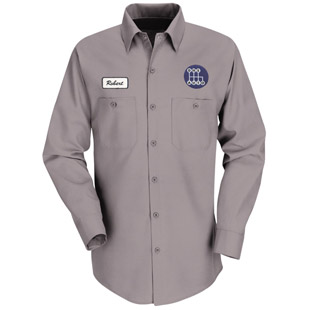 Decatur High School Long Sleeve Work Shirt - Click for Large View