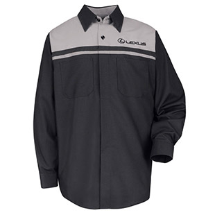Lexus Technician Long Sleeve Shirt - Click for Large View