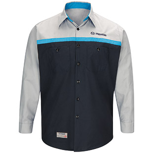 Mazda Technician Long Sleeve Shirt - Click for Large View
