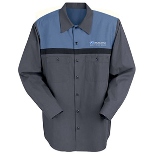 Subaru Technician Long Sleeve Shirt - Click for Large View