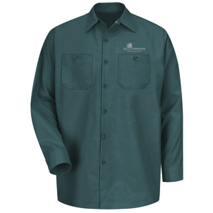 Seward County Community College Long Sleeve Work Shirt - Click for Large View