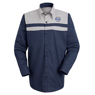 Volvo Technician Long Sleeve Shirt - Click for Large View