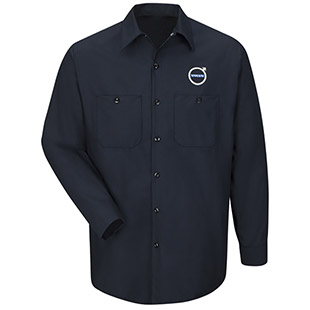 Volvo Personal Service Short Sleeve Technician Shirt - Click for Large View