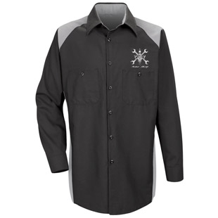Cordova High School Auto Shop Long Sleeve Shirt - Click for Large View