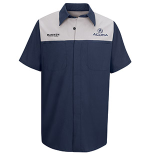 Ranken Technical College Acura Short Sleeve Technician Shirt - Click for Large View