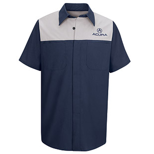 Acura Short Sleeve Technician Shirt - Click for Large View