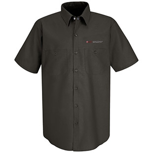 Monterey Peninsula College Short Sleeve Work Shirt - Click for Large View