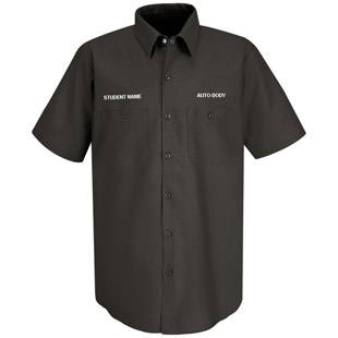 Parkway West CTC Auto Body Short Sleeve Work Shirt - Click for Large View